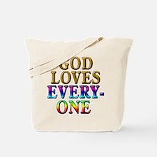 GOD Loves Everyone Tote Bag
