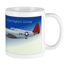332 Fighter Group P-47C Blue Sky Mug