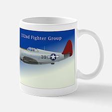 332 Fighter Group P-47C Blue Sky Mug