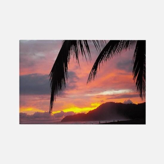 Sunset - Jaco Beach Rectangle Magnet
