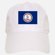 Virginia Flag Baseball Baseball Cap