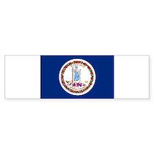 Virginia Flag Bumper Bumper Sticker