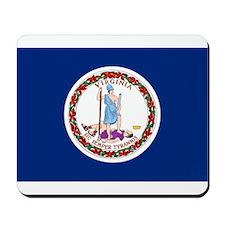Virginia Flag Mousepad