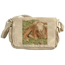 Newborn Lamb Messenger Bag