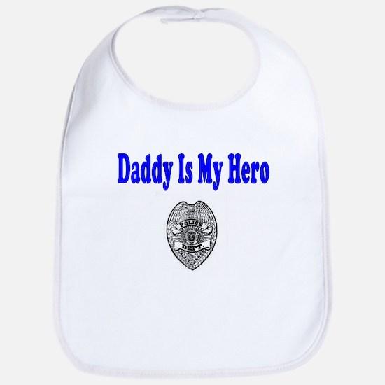 Police Hero-Daddy Bib
