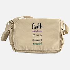 Faith Possible Messenger Bag