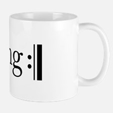 Repeated Sing Mug