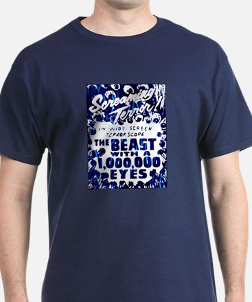 Beast with a Million Eyes Blue T-Shirt