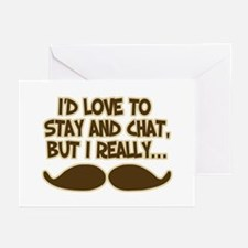 I Really Must-Dash Greeting Cards (Pk of 10)