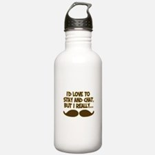 I Really Must-Dash Water Bottle