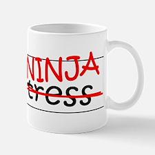 Job Ninja Waitress Mug