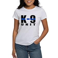 K-9 Unit Blue Line T-Shirt