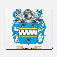 Girdler Coat of Arms (Family Crest) Mousepad