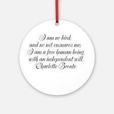 brontewords Ornament (Round)
