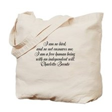 brontewords Tote Bag