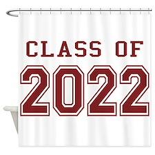 Class of 2022 Shower Curtain
