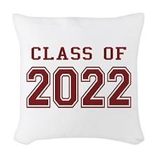 Class of 2022 Woven Throw Pillow