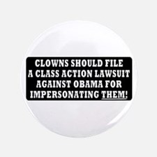 """Clowns should sue Obama for impersonation 3.5"""" But"""