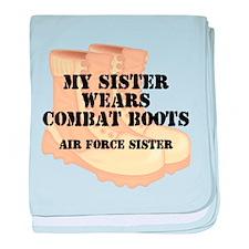 AF Sister Sis DCB baby blanket