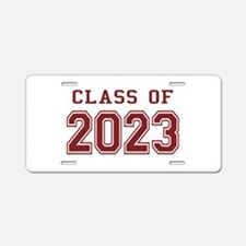 Class of 2023 Aluminum License Plate