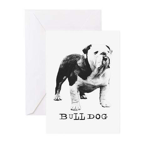 Bulldog Greats Goober Greeting Cards (Pk of 10