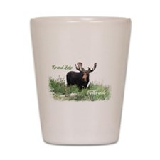 Grand Lake CO Moose Shot Glass