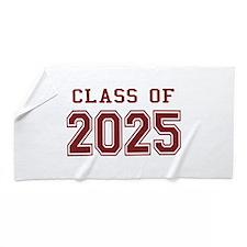 Class of 2025 (Red) Beach Towel