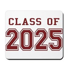 Class of 2025 (Red) Mousepad