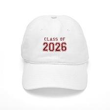 Class of 2026 (Red) Baseball Cap