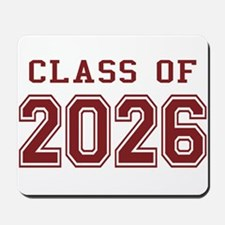 Class of 2026 (Red) Mousepad