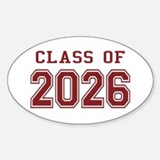 Class of 2026 (Red) Decal