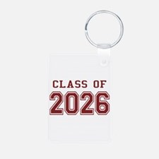 Class of 2026 (Red) Keychains