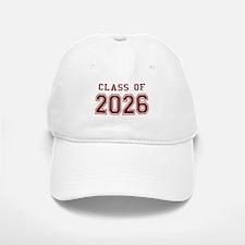 Class of 2026 (Red) Baseball Baseball Cap