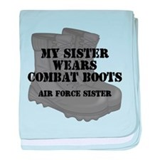 AF Sister Sis CB baby blanket