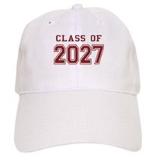 Class of 2027 (Red) Baseball Cap
