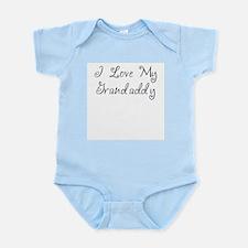 I Love My Grandaddy/Girl Infant Bodysuit