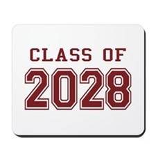 Class of 2028 (Red) Mousepad