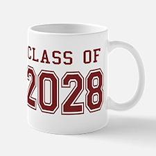 Class of 2028 (Red) Mug