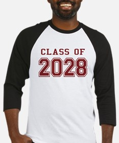 Class of 2028 (Red) Baseball Jersey