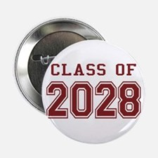 "Class of 2028 (Red) 2.25"" Button"