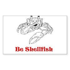 Selfish Shellfish Decal