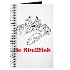 Selfish Shellfish Journal