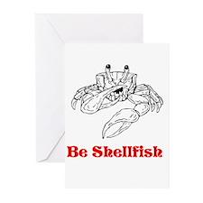 Selfish Shellfish Greeting Cards (Pk of 10)