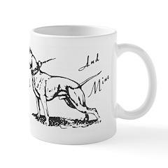 Your Friend And Mine Pit Bull Logo Mug