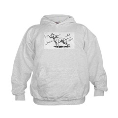 Your Friend And Mine Pit Bull Logo Hoodie