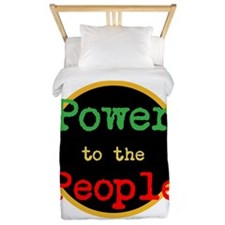 Power to the People Twin Duvet