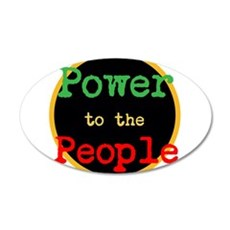 Power to the People Wall Decal