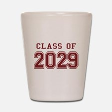 Class of 2029 (Red) Shot Glass