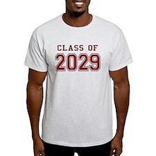 Class of 2029 (Red) T-Shirt