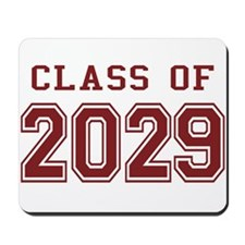 Class of 2029 (Red) Mousepad
